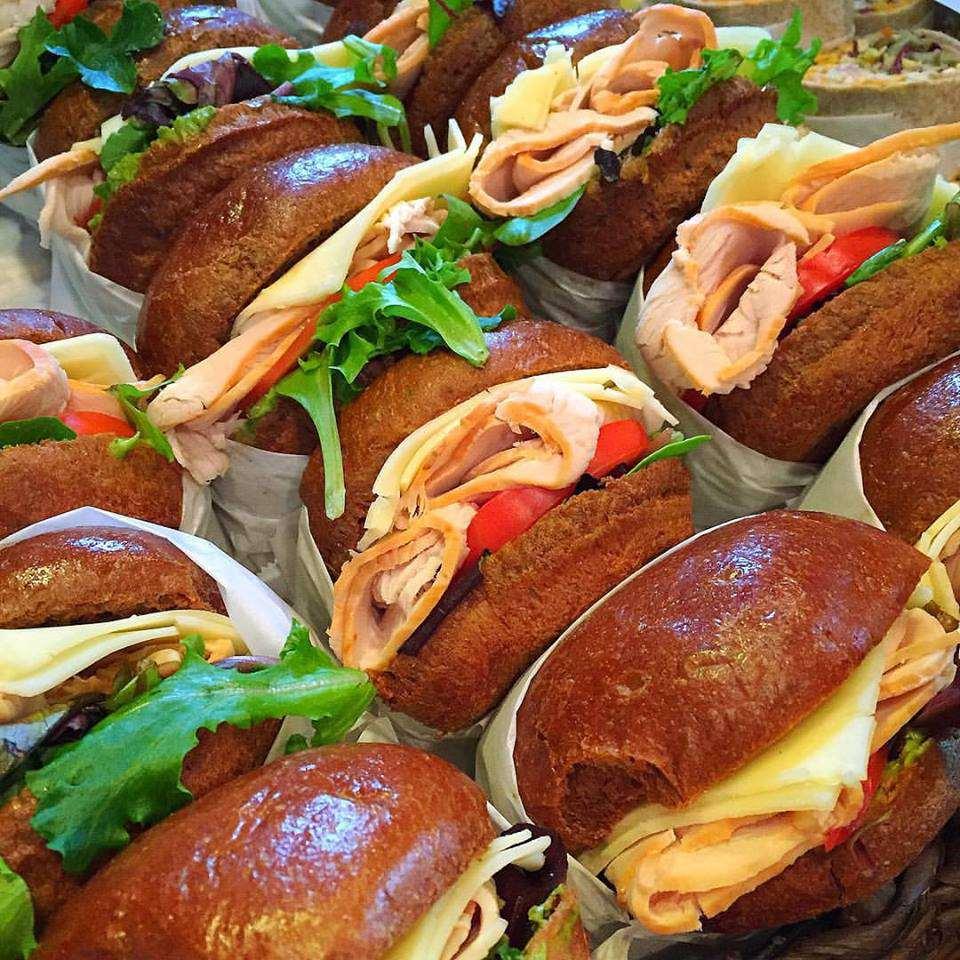 Sandwiches de pavo en Souper Jenny