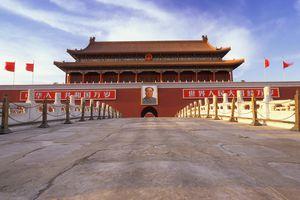 Tian'anmen Gate in China