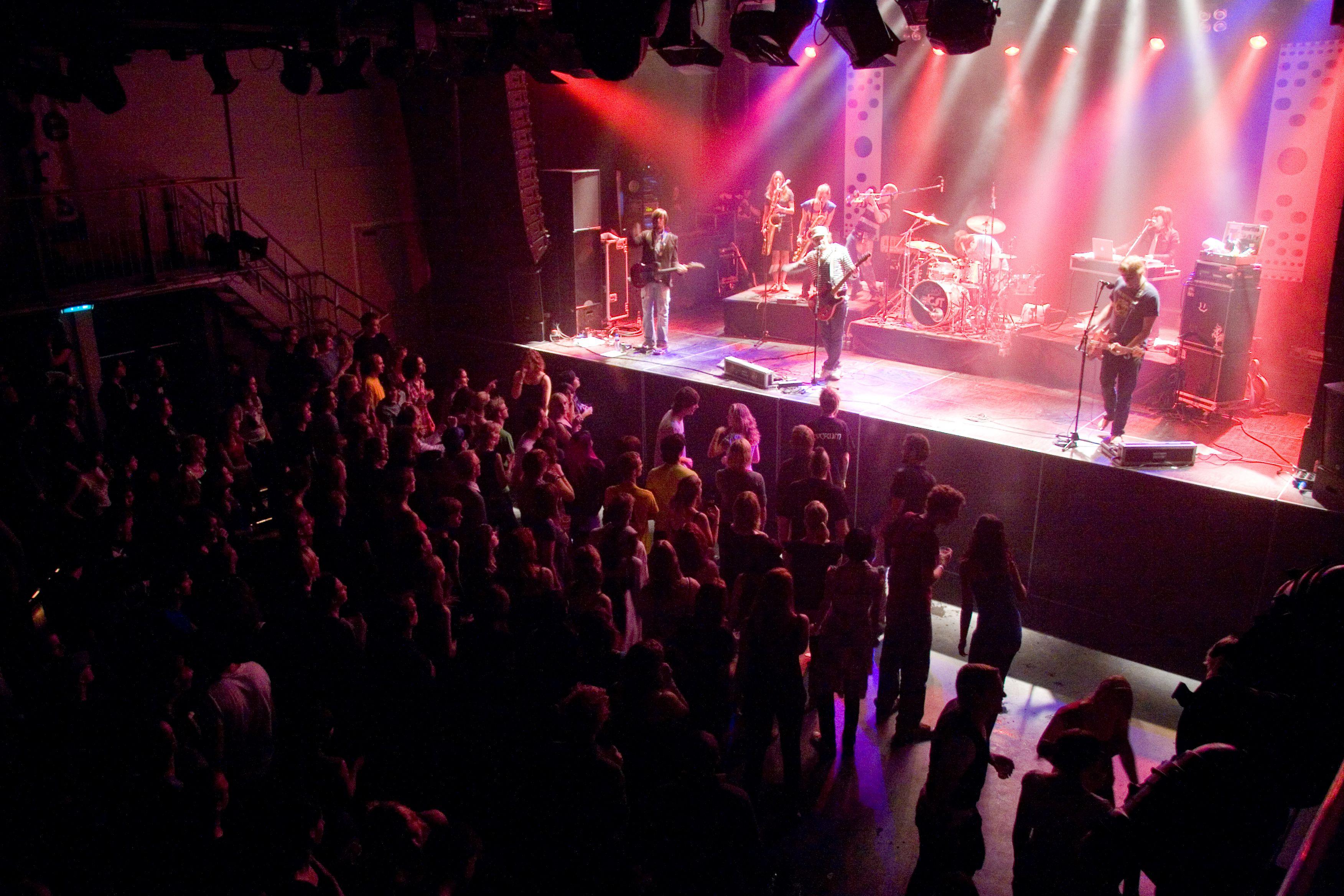 A band performing at Melkweg