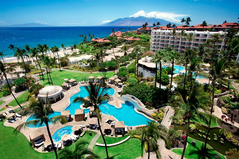 Fairmont Kea Lani Hotel In Wailea Maui Hawaii