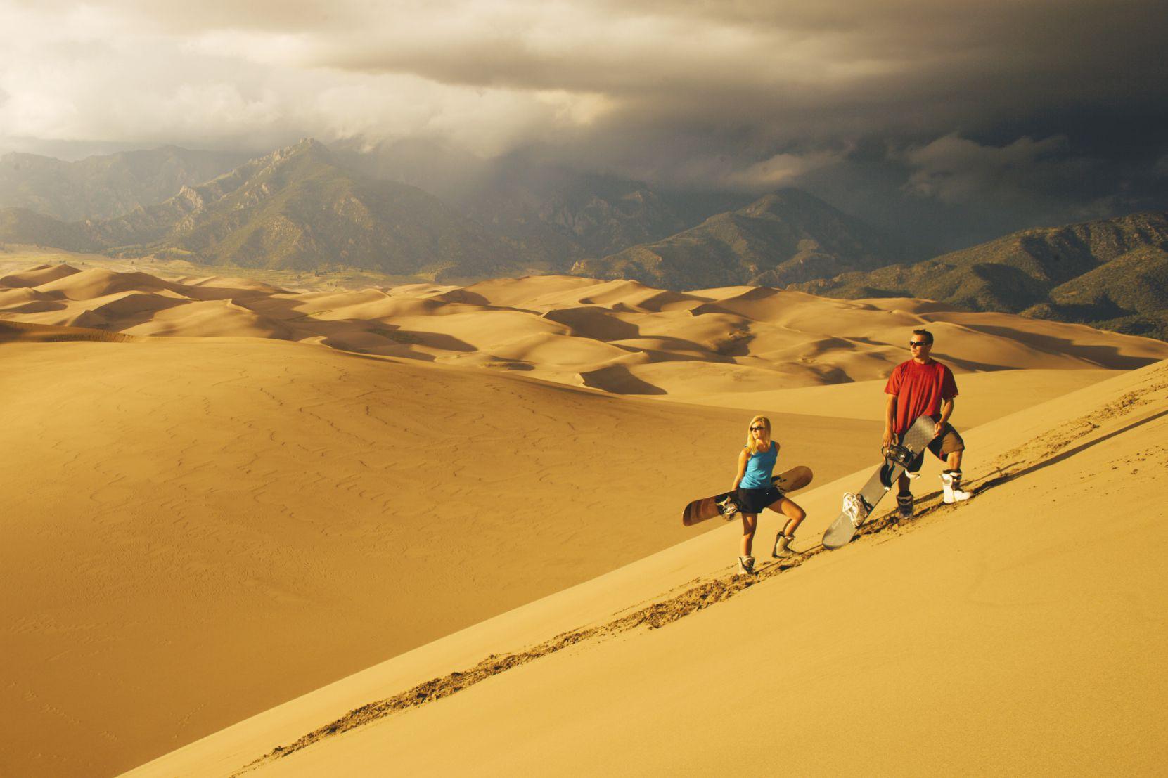 Grandes dunas de arena en Colorado
