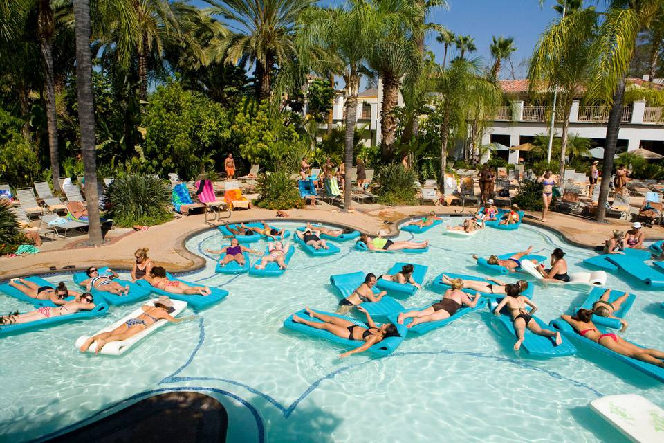 Desert Hot Springs Spa Hotel Day Pass