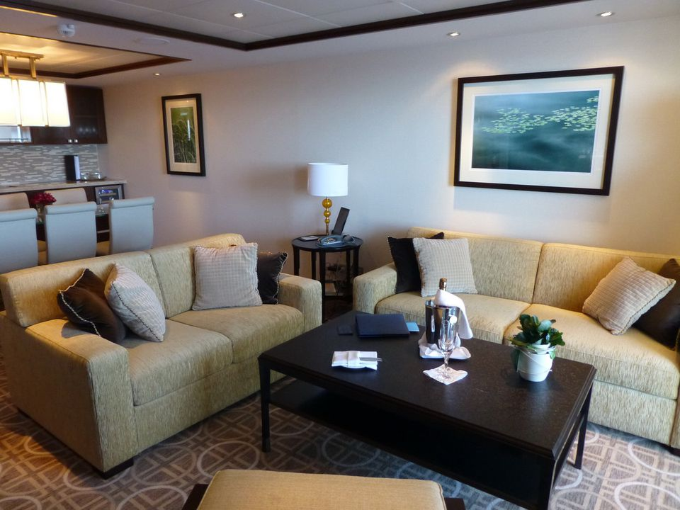 Royal Suite on Celebrity Silhouette | Explore Photos and ...