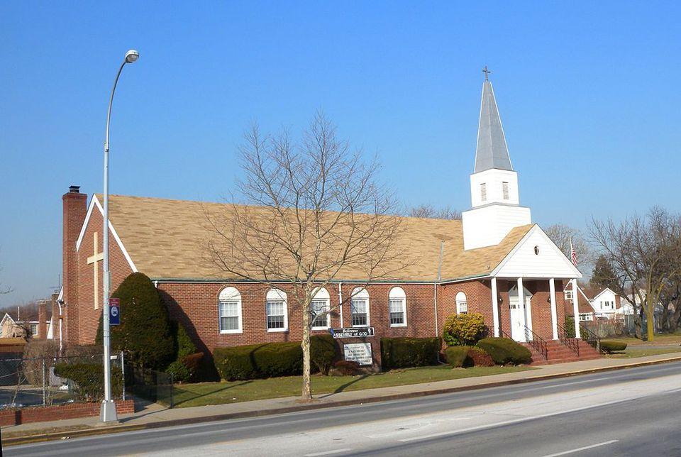 A church in Bellerose