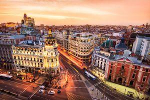 Madrid, Spain skyline