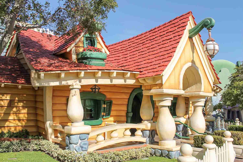 Mickey's House at Disneyland