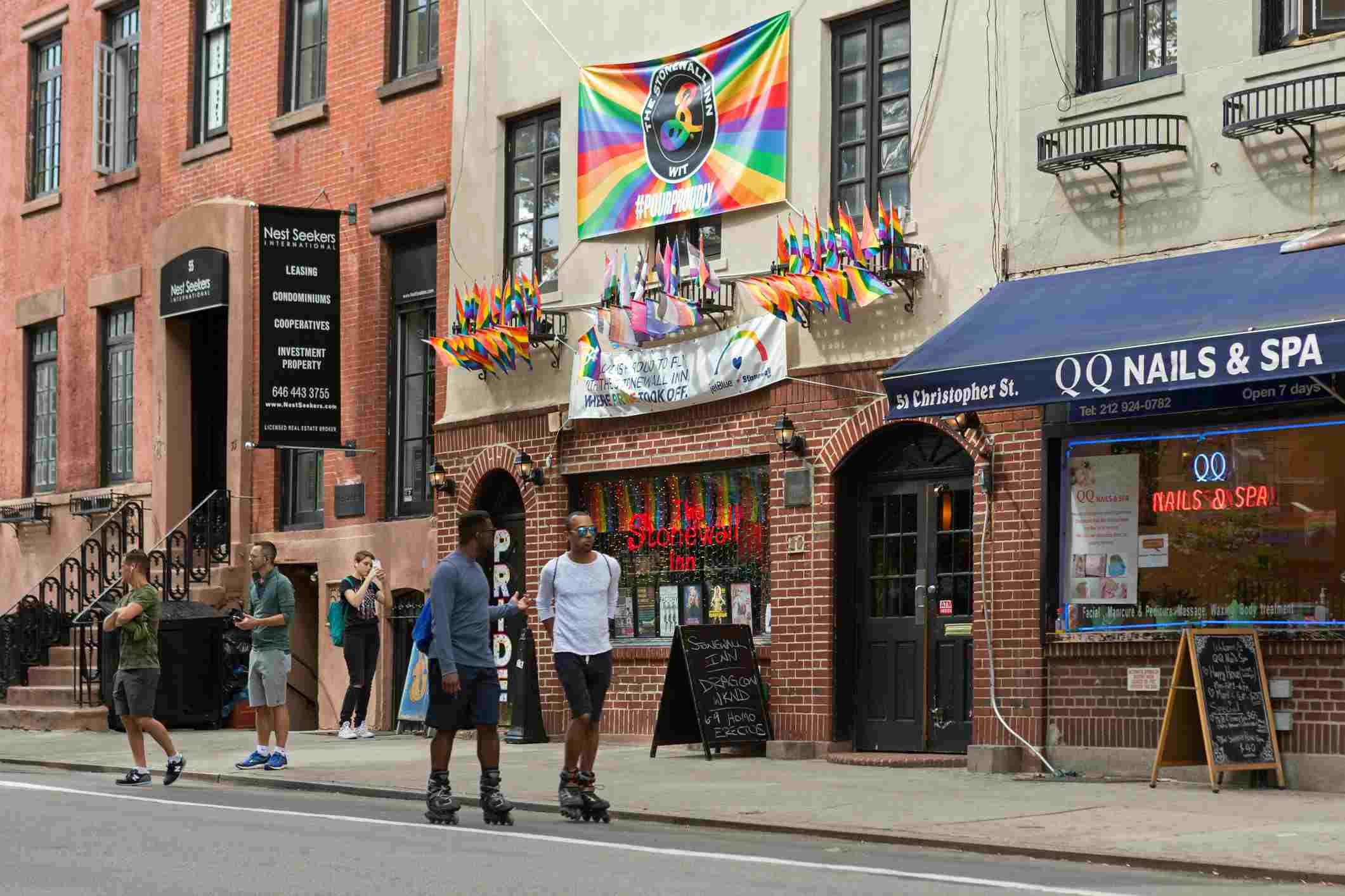 The Stonewall Inn en Greenwich Village, NYC