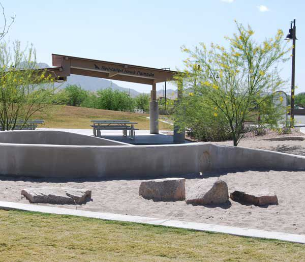 Play Areas and Picnic Ramadas in Chandler
