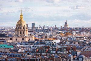Paris skyline Les Invalides