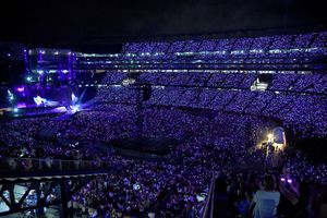A view of the stage during the Taylor Swift reputation Stadium Tour at Gillette Stadium
