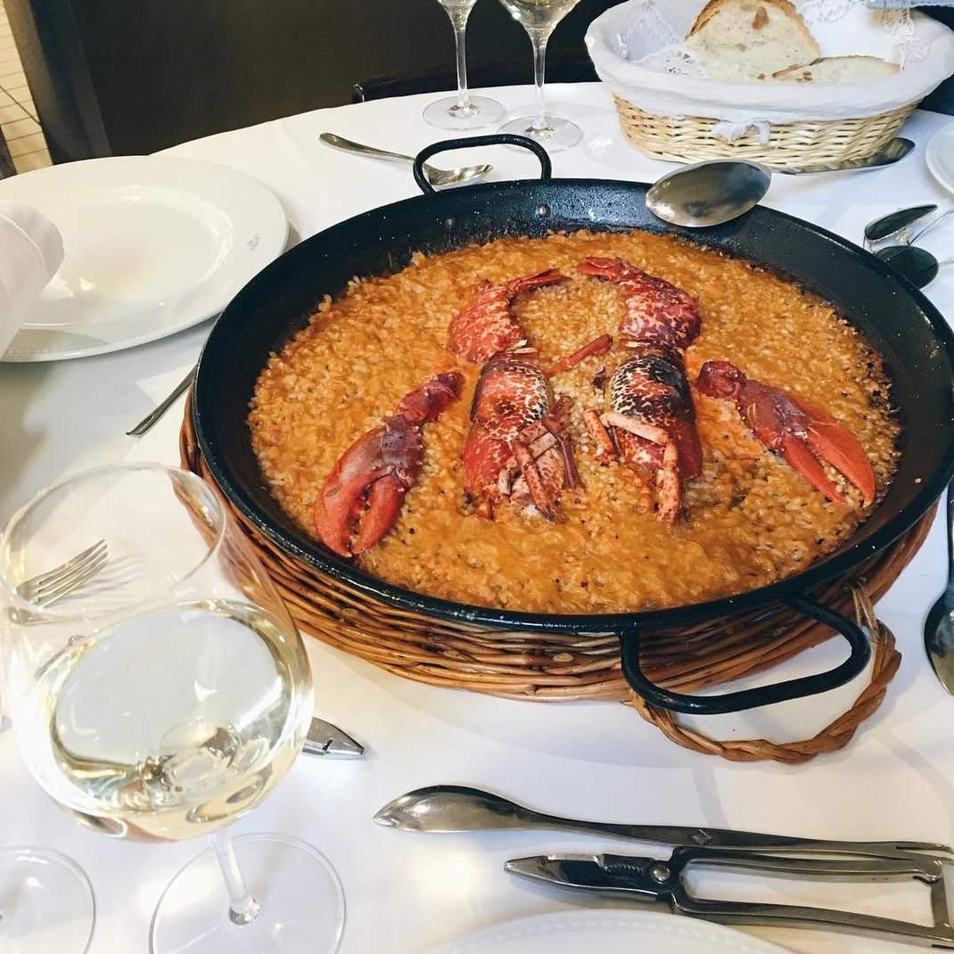 Can Solé lobster paella, Barcelona