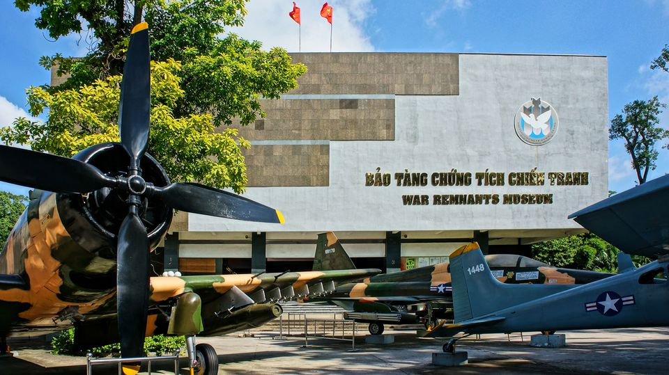Image result for war museum saigon""