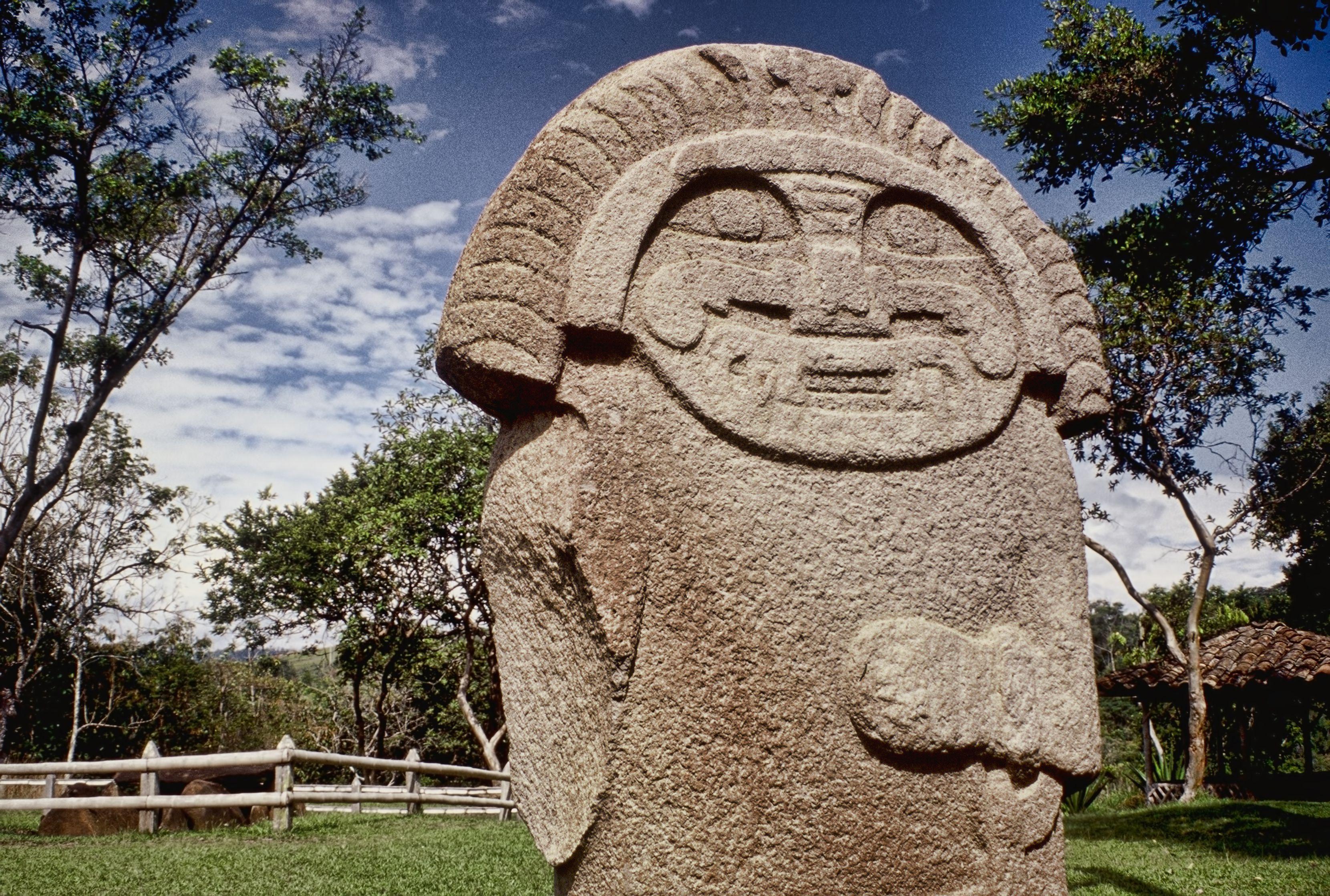 Archaeological park of San Augustin