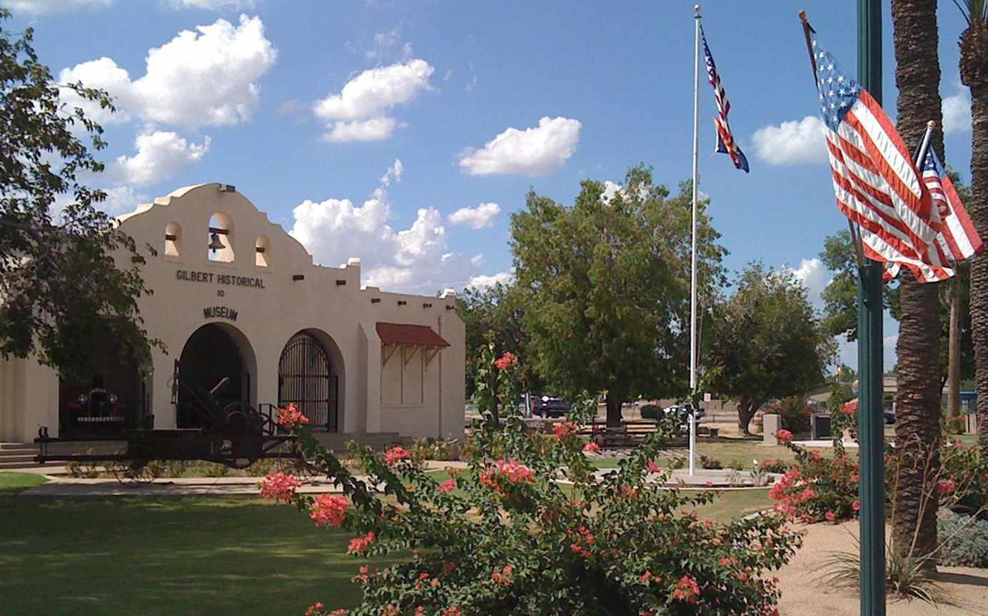 Exterior of Gilbert Historical Museum