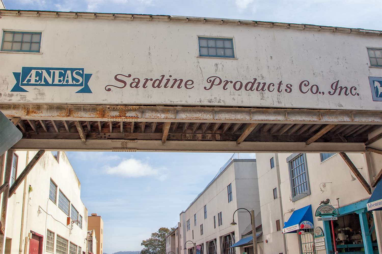 Factory Crossover on Cannery Row