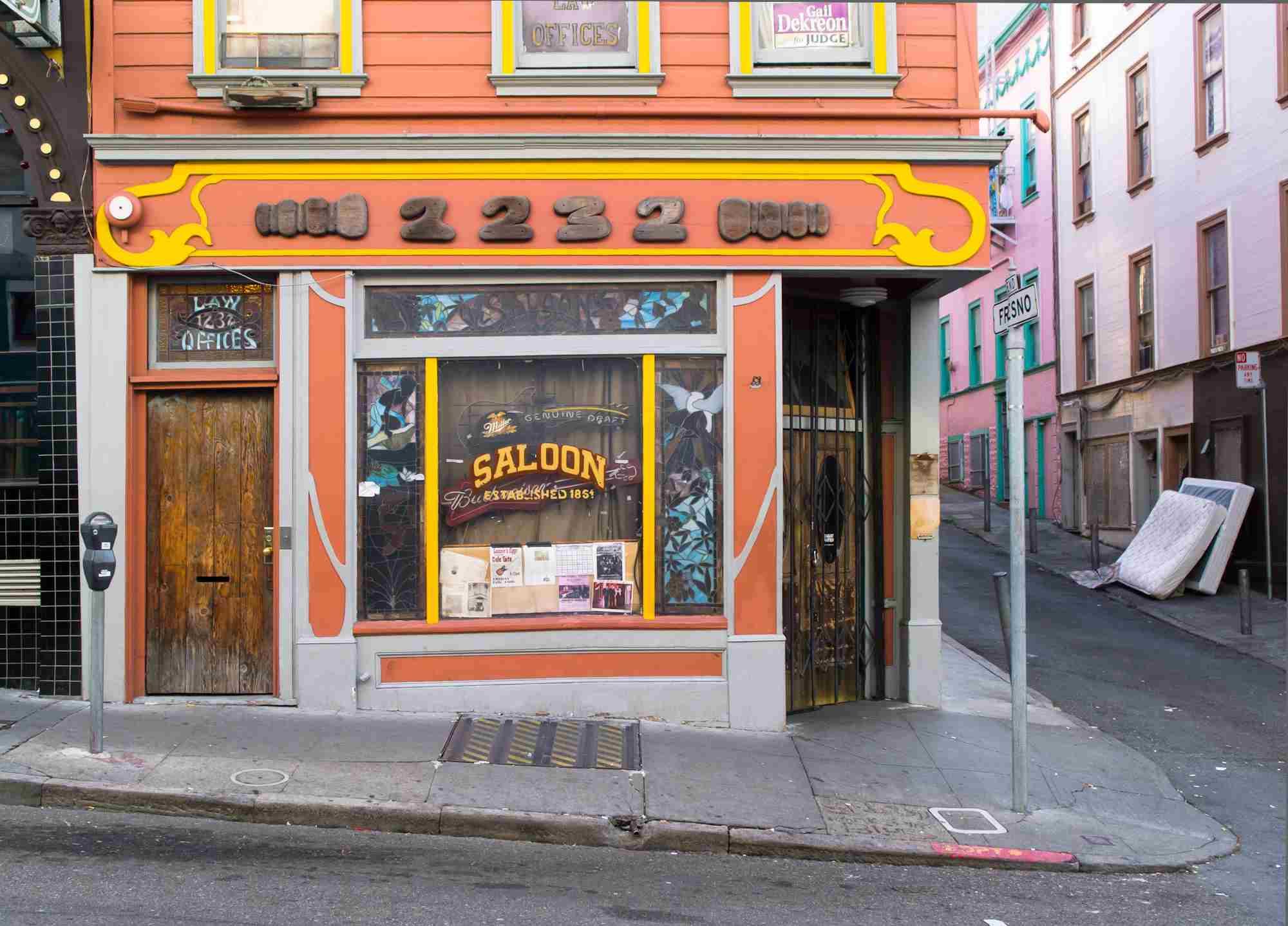 The saloon, North-Beach san francisco