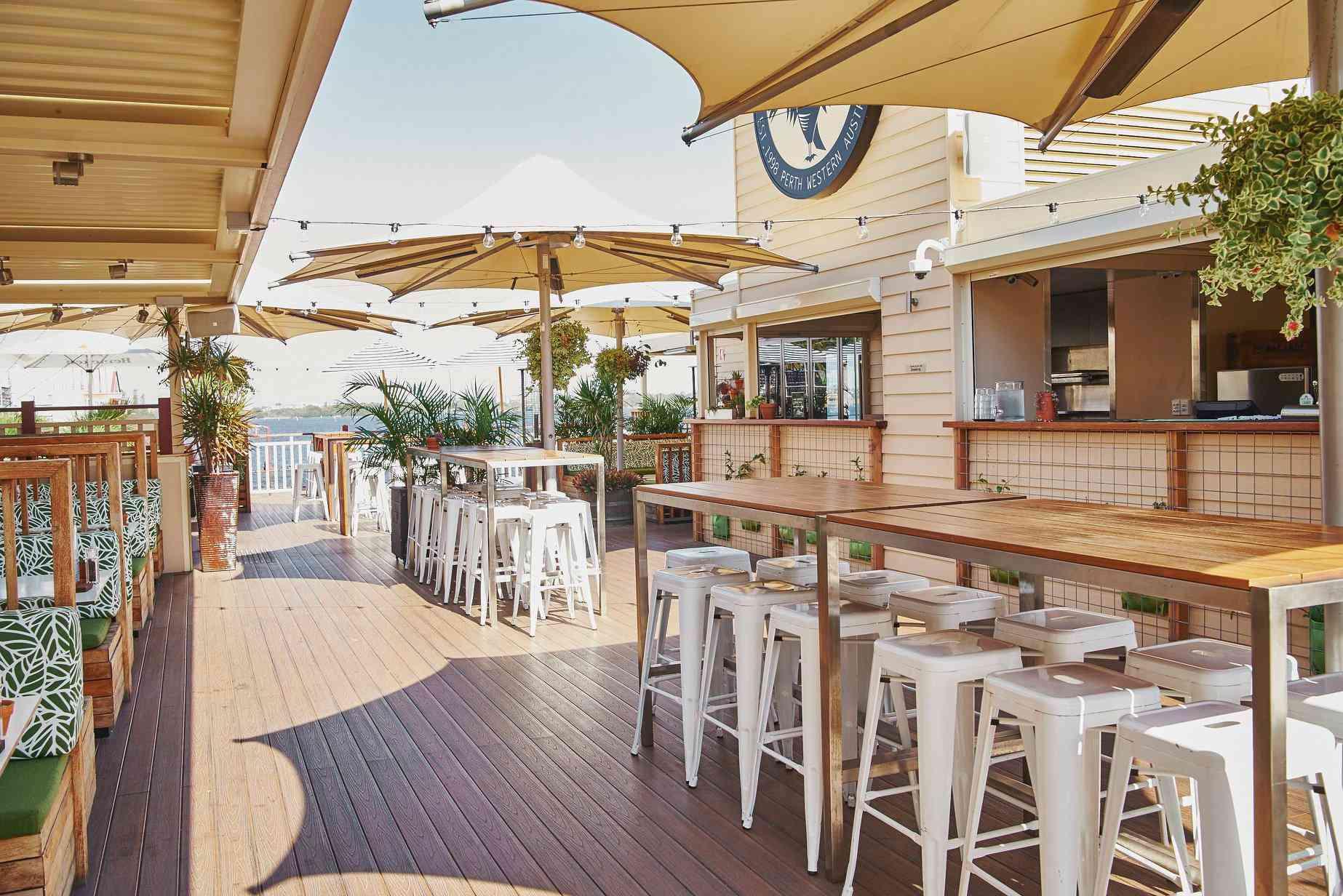 The Lucky Shag rooftop bar