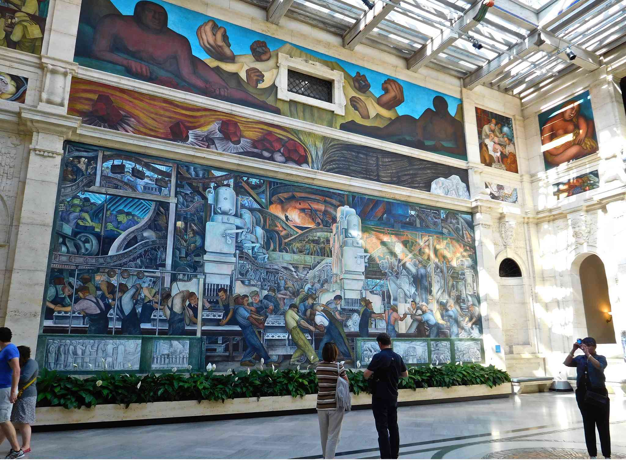 Detroit Industry Murals by Diego Rivera