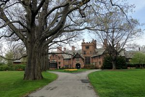 Stan Hywet Hall from the outside