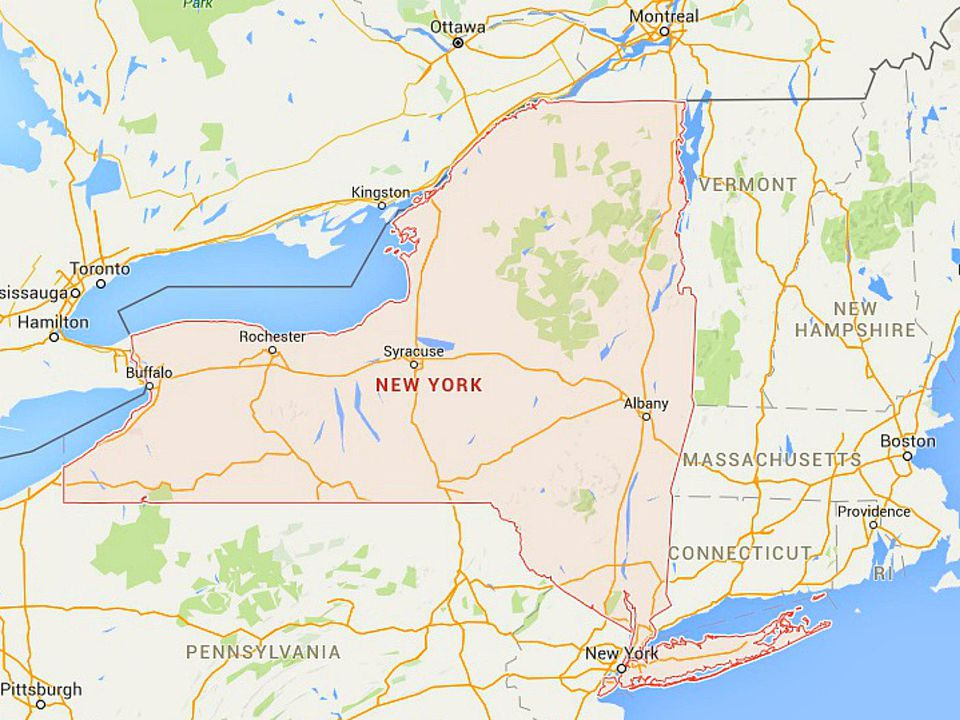 State Map Of New York.Maps Of New York Nyc Catskills Niagara Falls And More