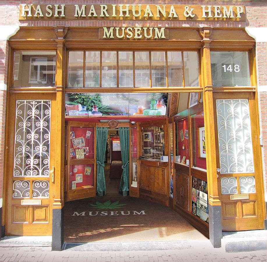 Hash Marihuana & Hemp Museum in Amsterdam