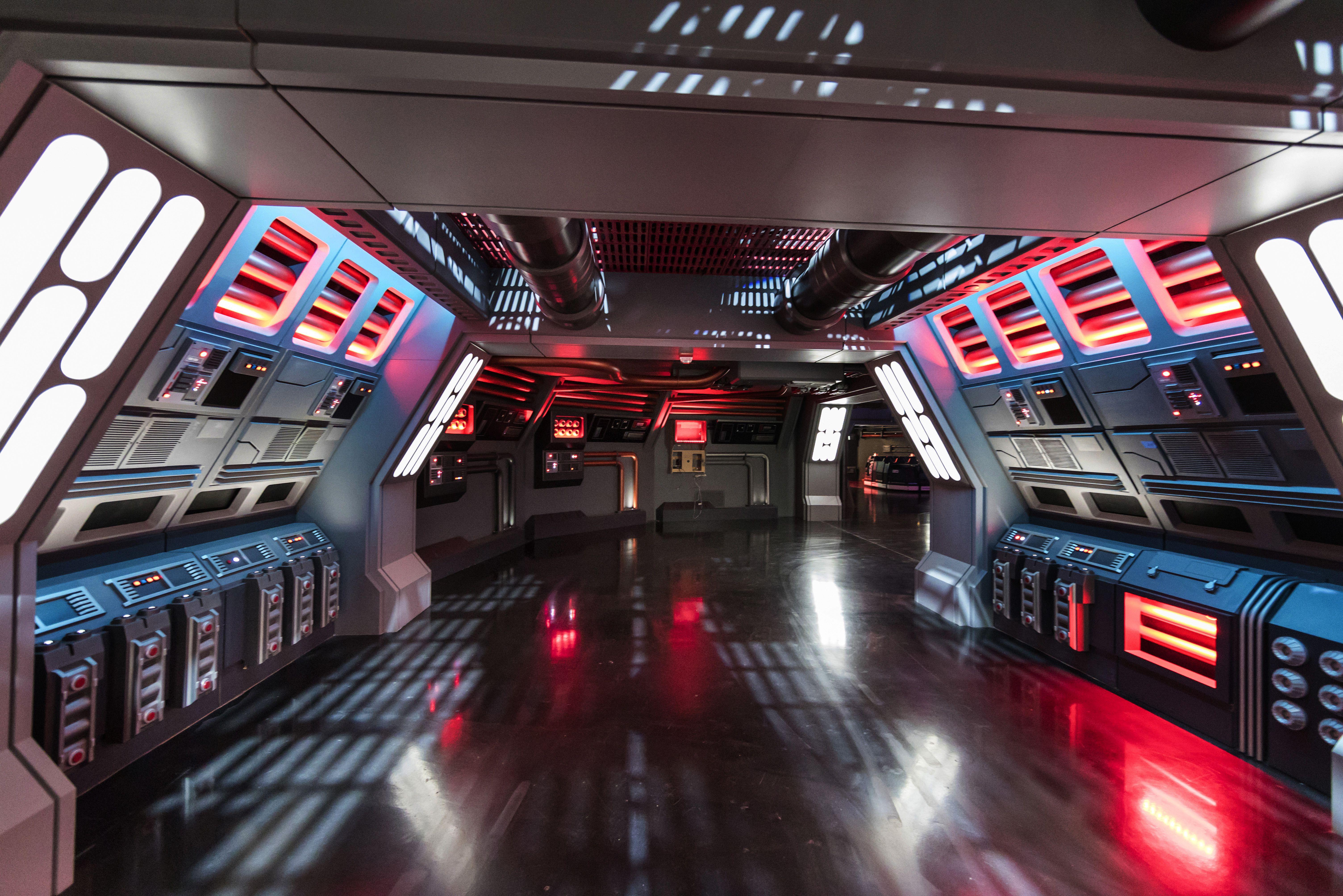 Star Wars: Rise of the Resistance ride en los parques de Disney
