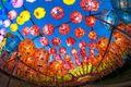 Colorful lanterns at Samgwangsa Temple in Busan