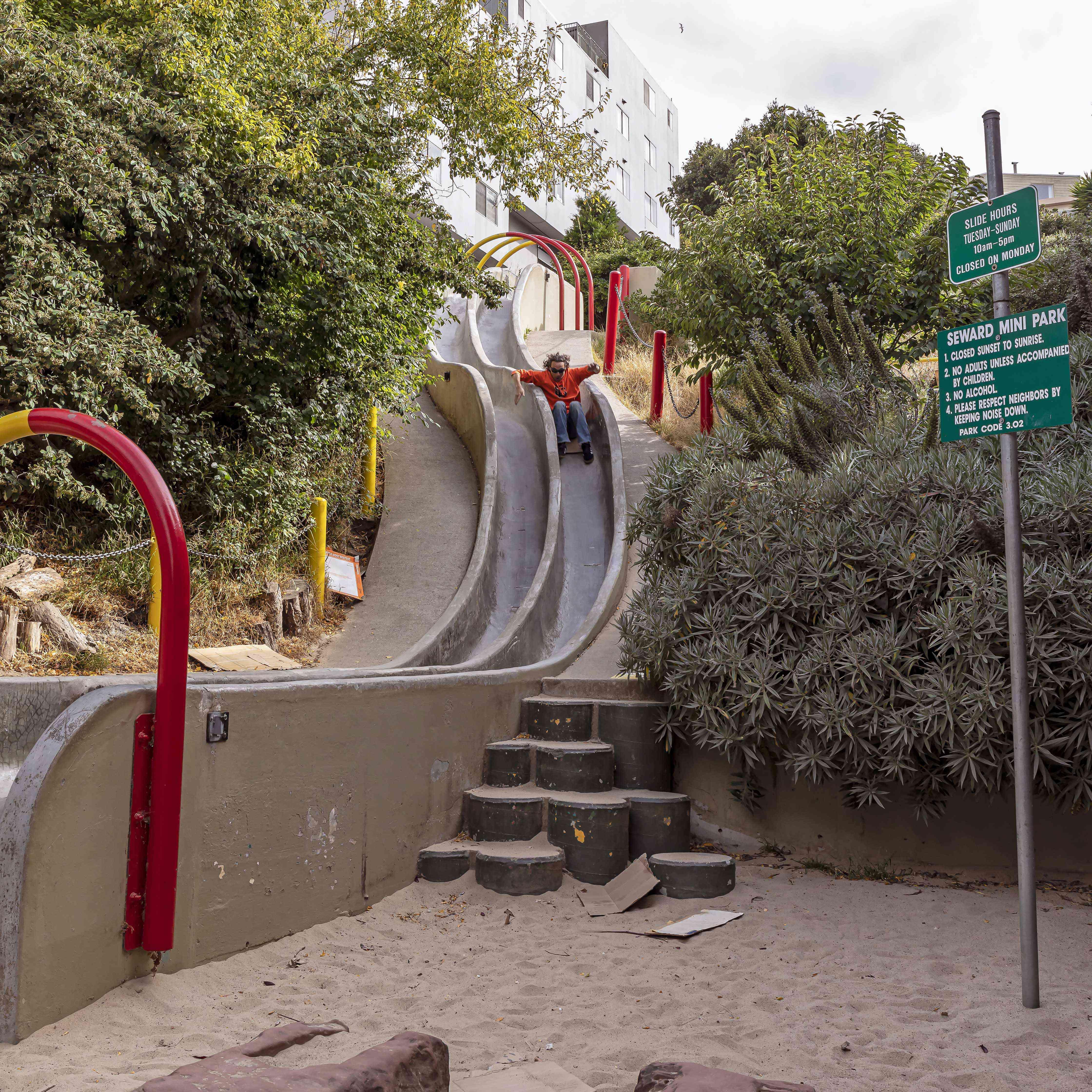 Seward Street Slides, San Francisco
