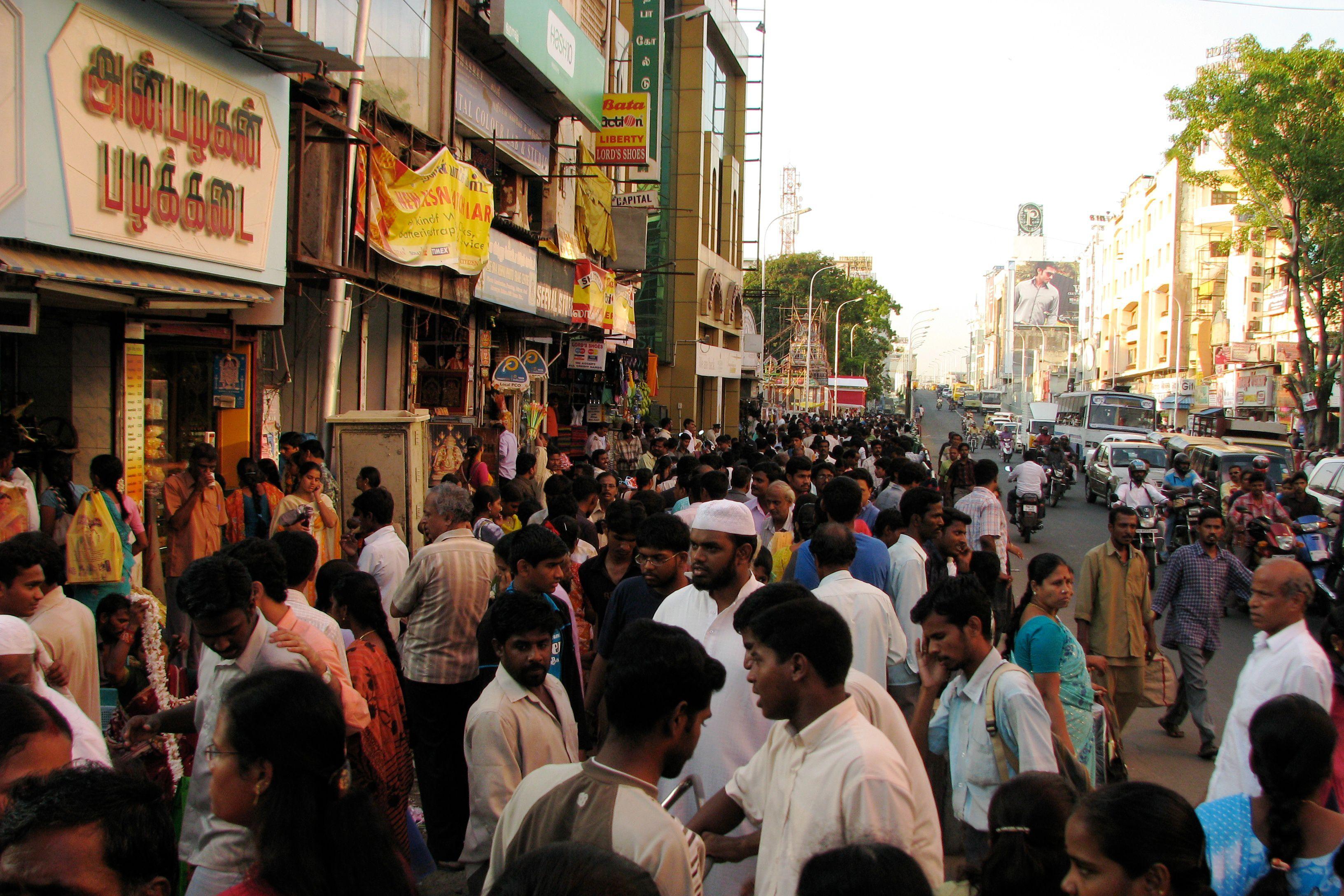 T Nagar, Chennai.