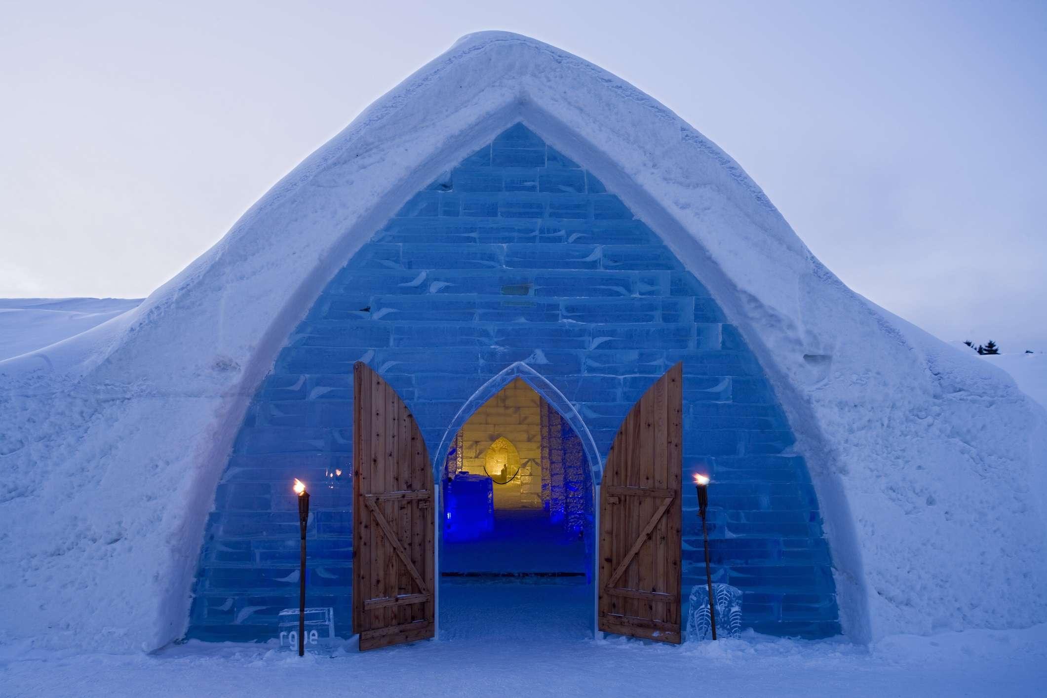 Sainte Catherine de la Jacques Cartier, Ice Hotel