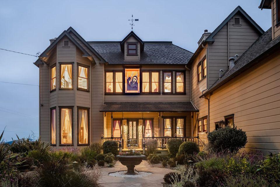 Scream house in Tomales, California