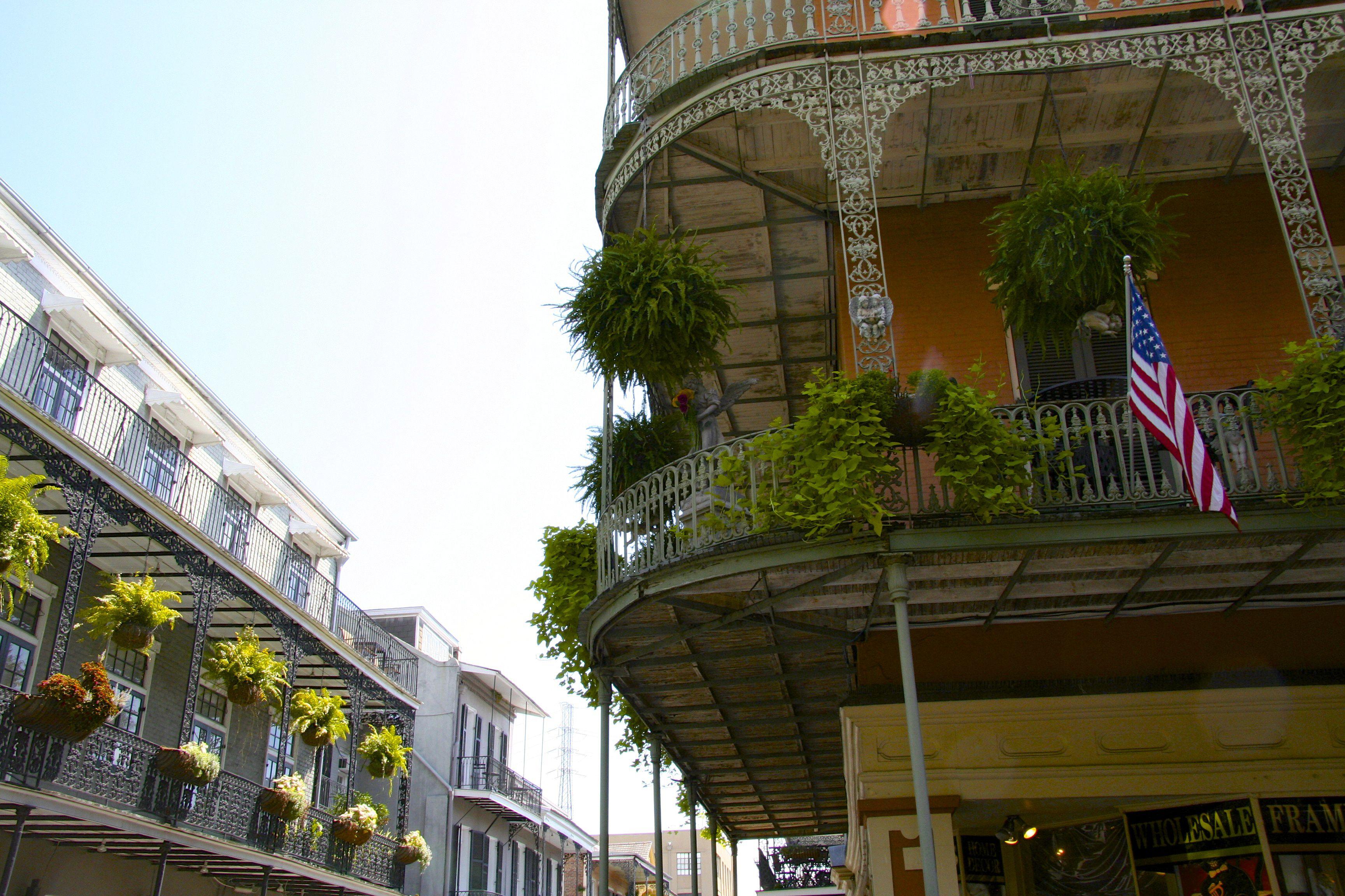 Balcones del barrio francés