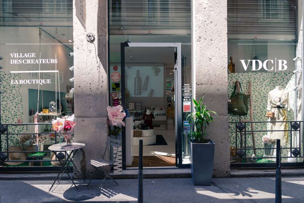 A shop at the Village des Créateurs, Lyon