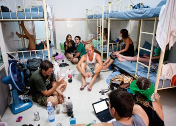 Hostel life with students