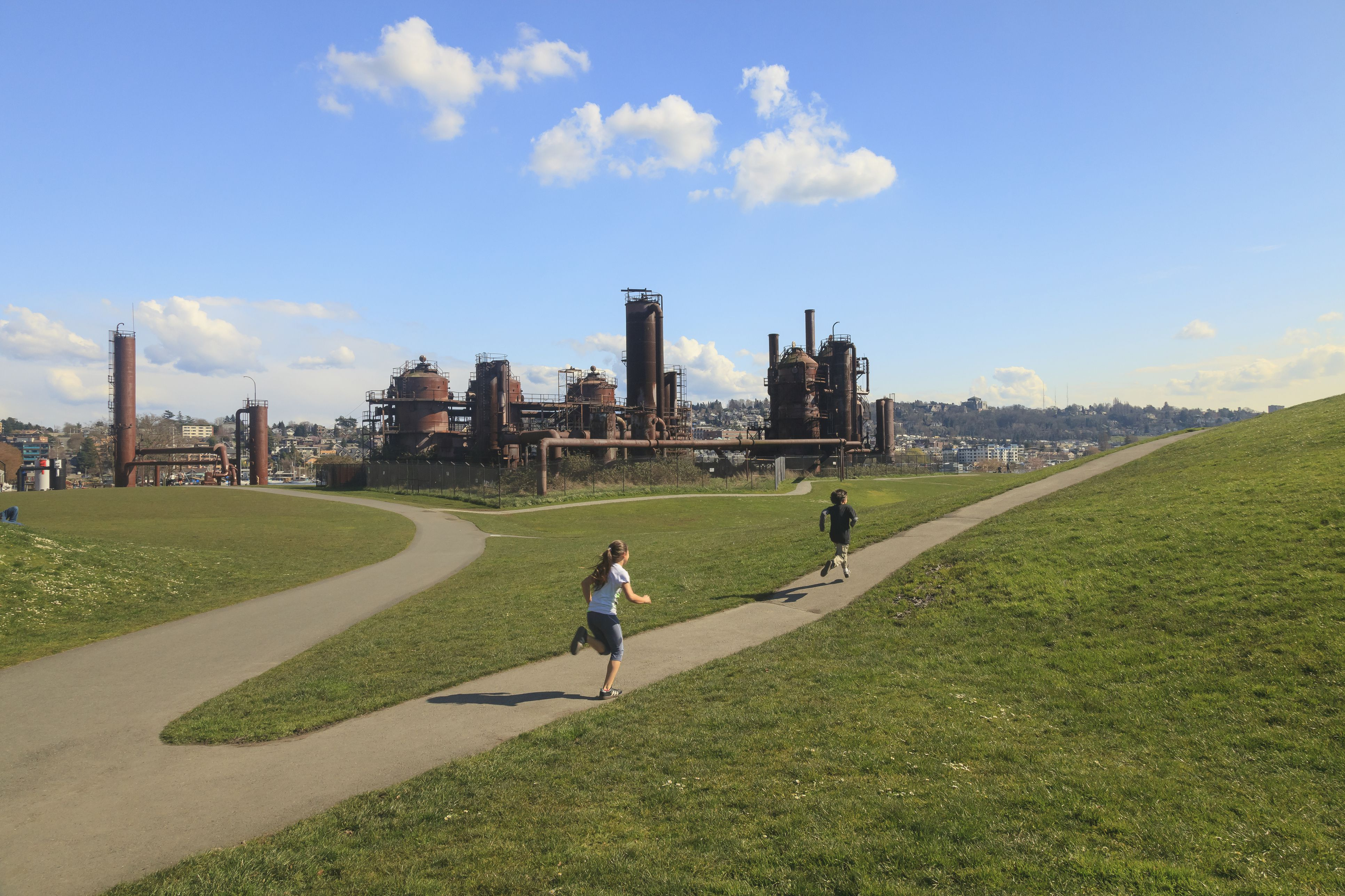 Children, Gasworks City Park, Seattle, WA, USA