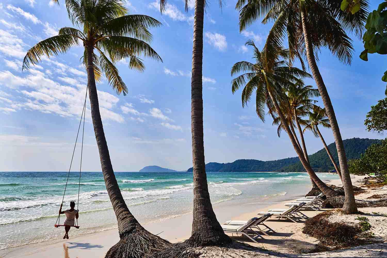 Playa de Bai Bien Sao, isla de Phu Quoc, Vietnam