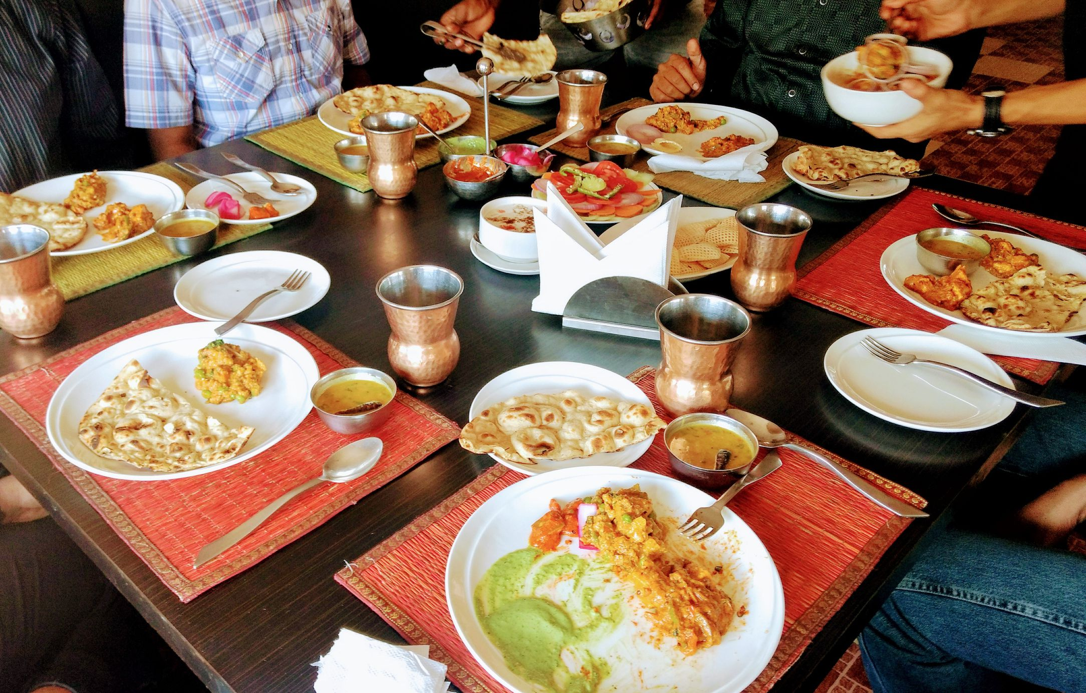 10 Restaurants for Classic Indian Food in Bangalore