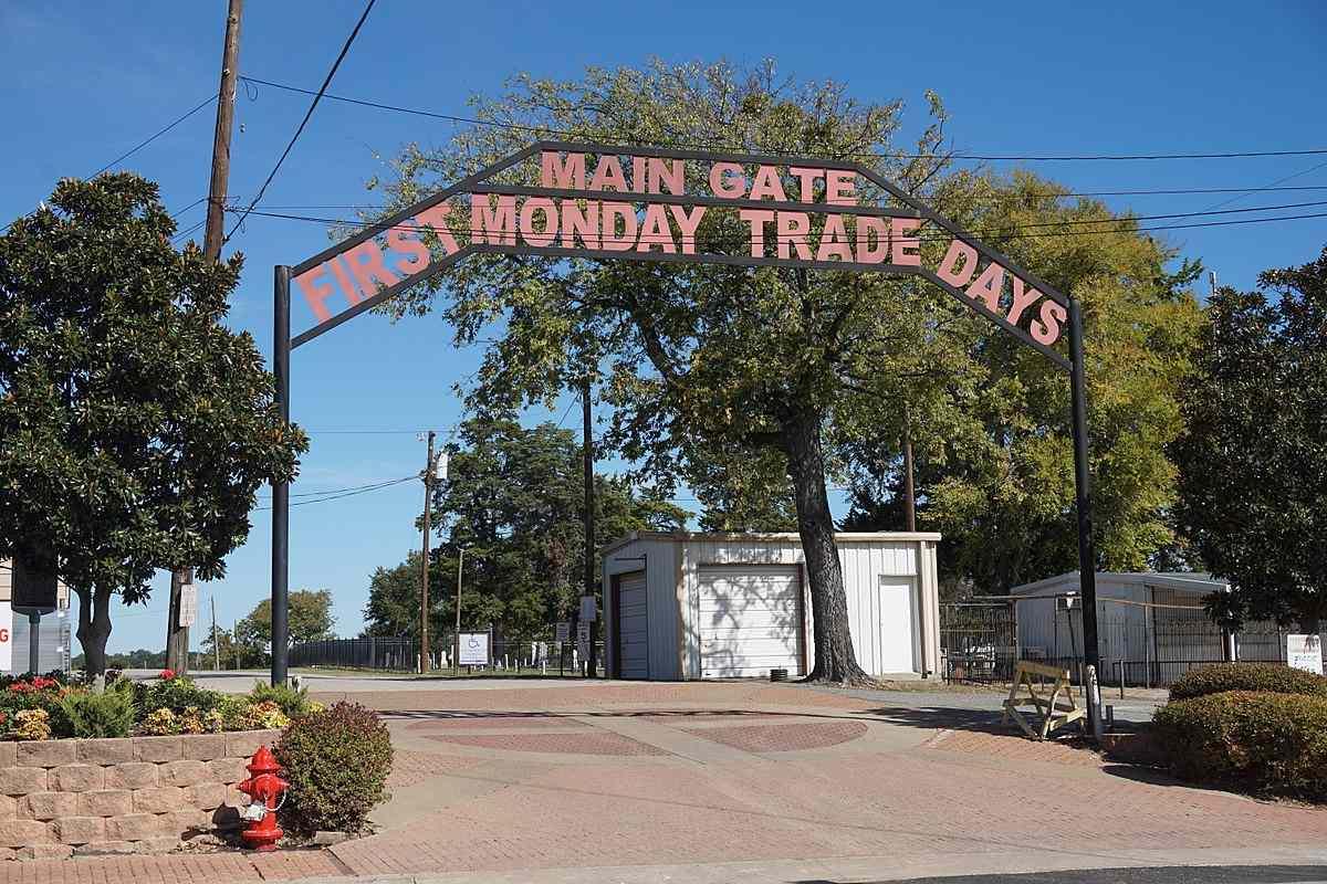 First Monday Trade Days Main Gate