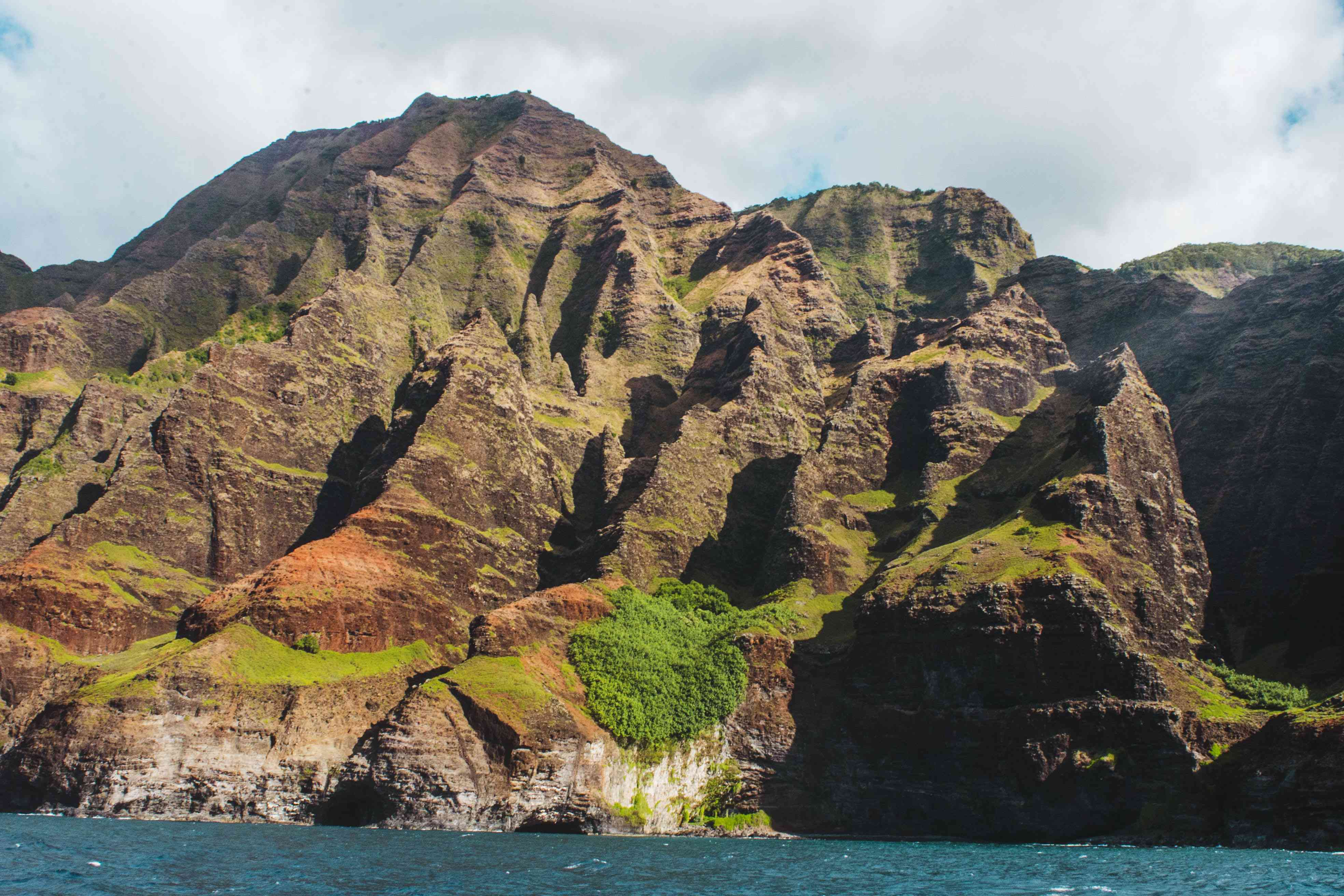 línea de la costa de Na Pali