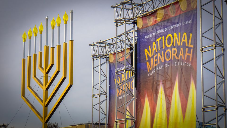 2015 National Menorah lighting