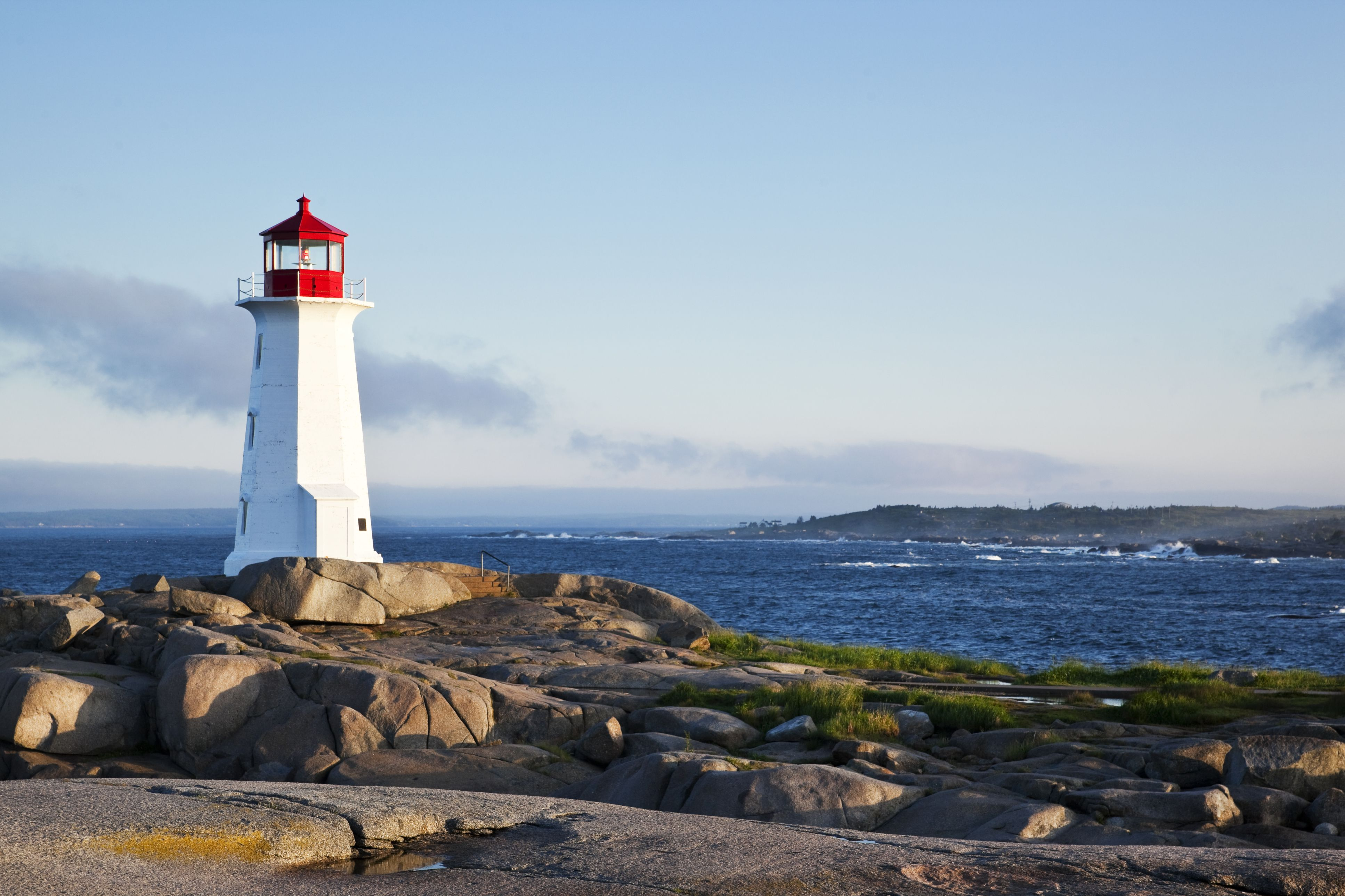 Lighthouse in Nova Scotia, Canada