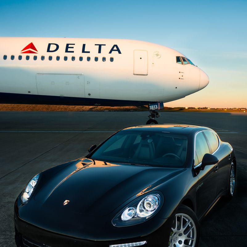 Delta Air Lines Porsche Cayennes