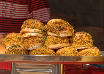 Dabeli is a popular snack food of India