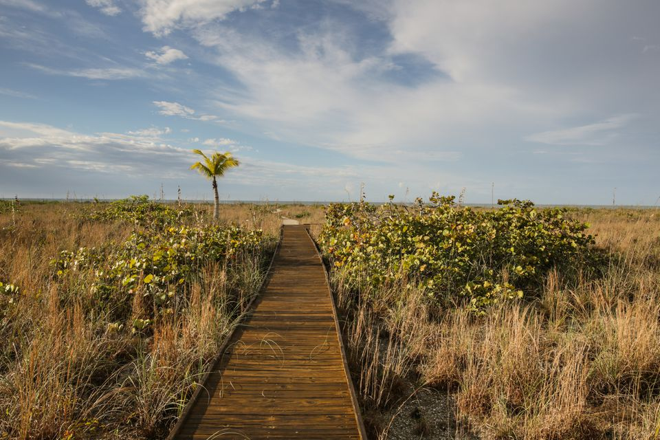 Boardwalk to Beach on Sanibel Island, Florida
