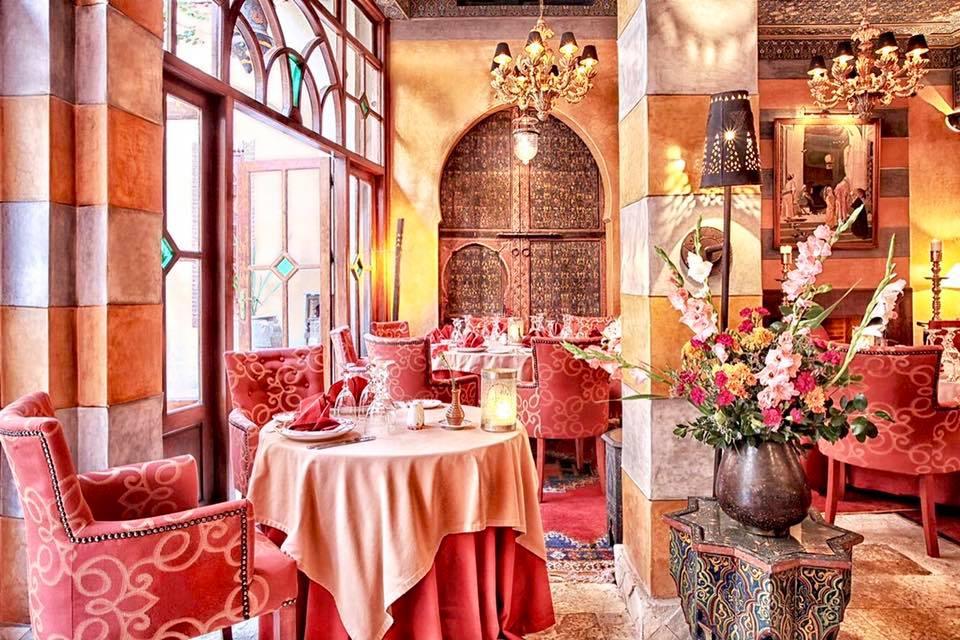 The first restaurant of Marrakech