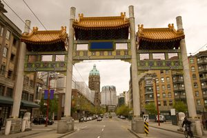 Chinatown in Vancouver