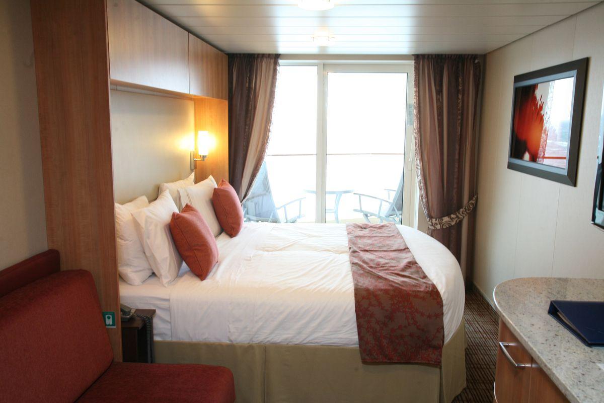 Celebrity Silhouette - Deluxe Ocean View Cabin with Veranda