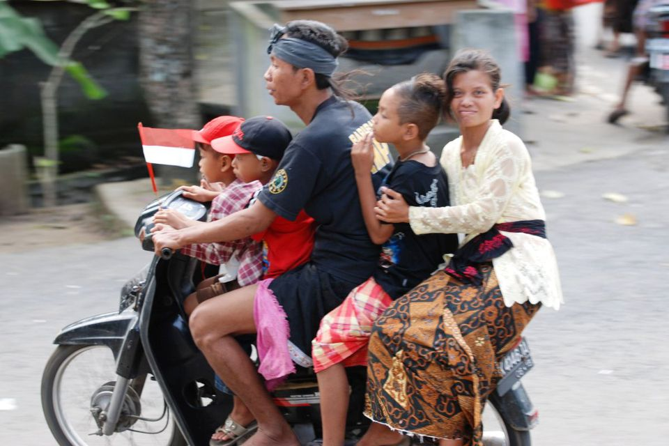 Renting Motorcycles Scooters In Bali Indonesia