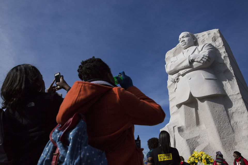 Martin Luther King Jr. Day Marked In U.S.