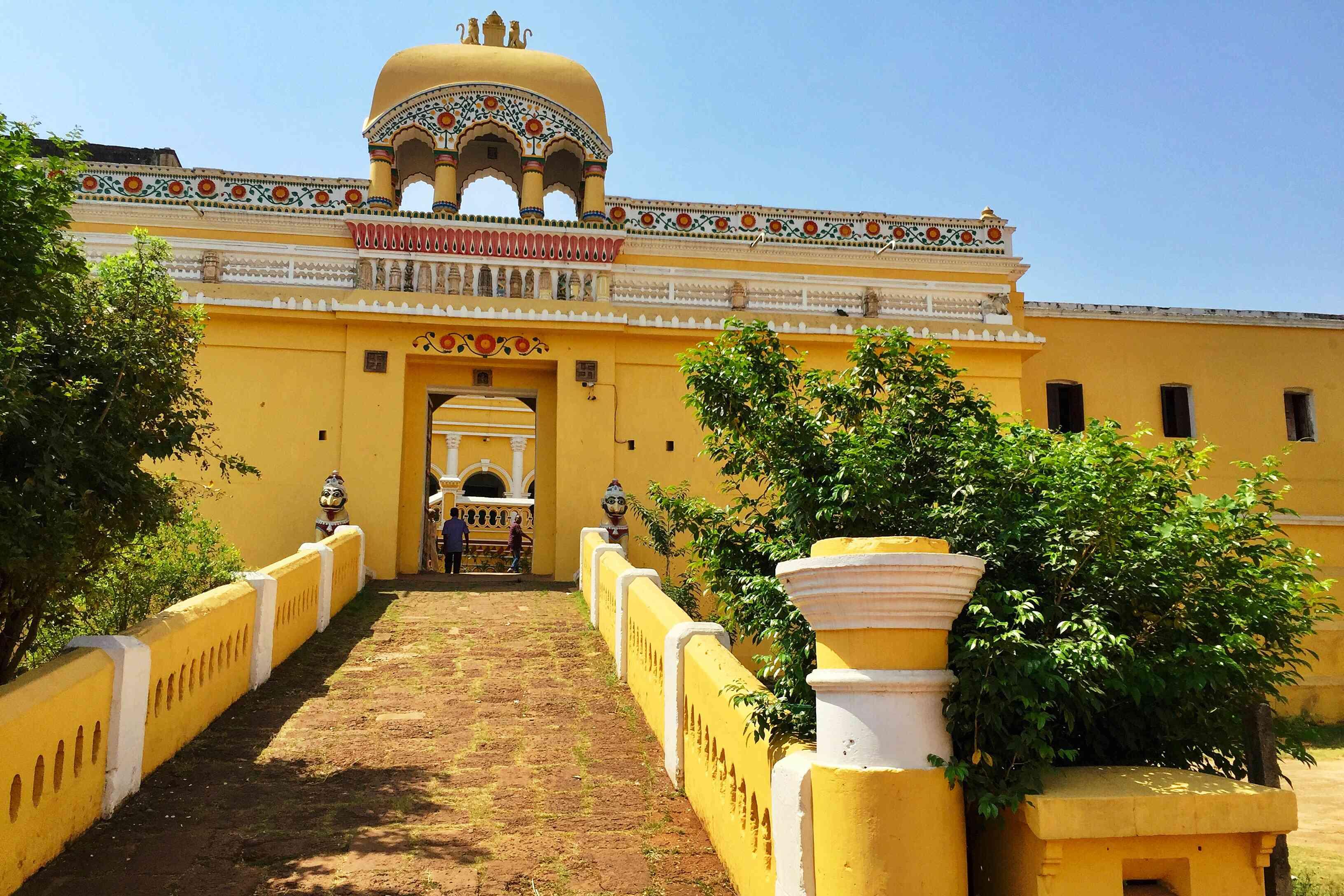 Dhenkanal Palace, Odisha.